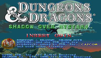 Rpgclassics Com Arcade Dungeons And Dragons Shadow Over Mystara Index