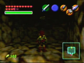 Ocarina Of Time Room Behind Wall Of Fire