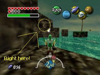 The Legend Of Zelda Majoras Mask Great Fairy Caves