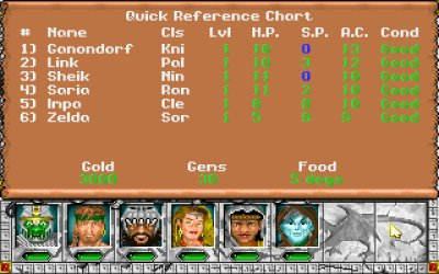 Might And Magic III Quick