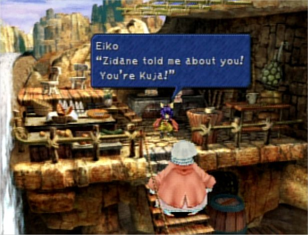 That's not Kuja!