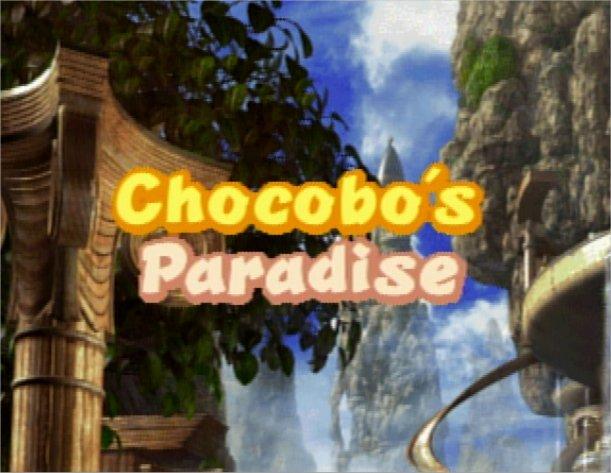 Chocobo's Paradise