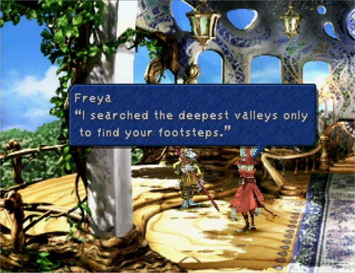 Final Fantasy IX - Cleyra Settlement