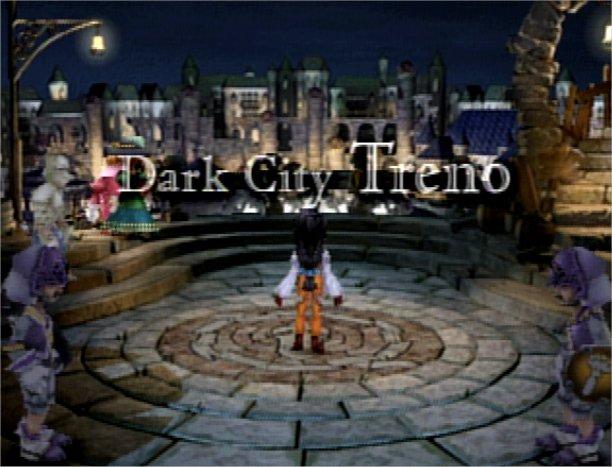 Final Fantasy IX - Dark City Treno