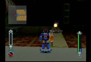 Shadow using his Hover Shoes to propel himself forward in Sonic Generations