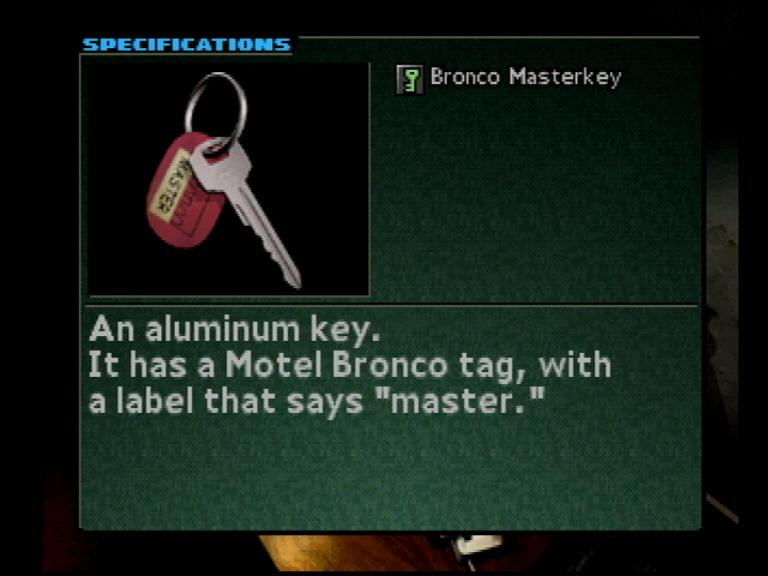 Motel master key
