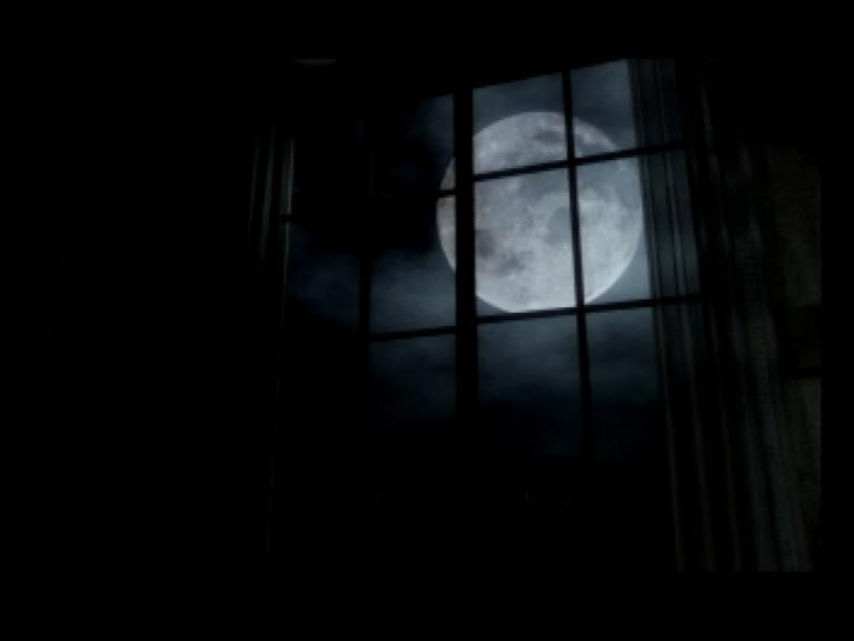 Eerie moonlight