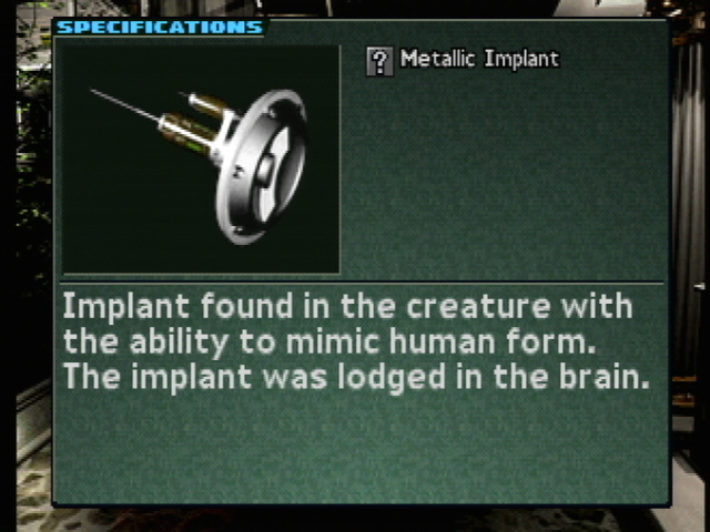 Metallic implant