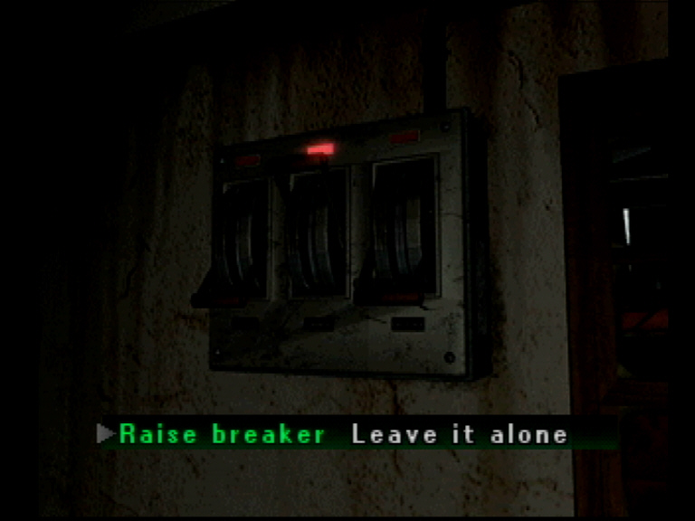 Raise the breaker