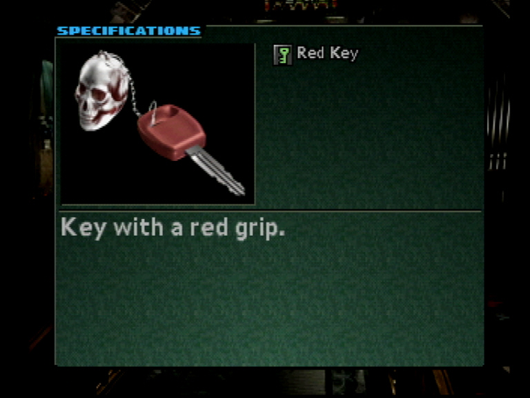 Use the red key